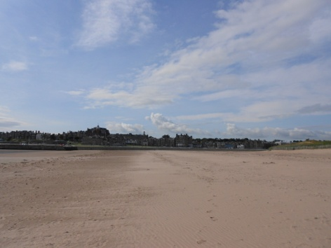 View of St. Andrews, taken from West Sands Beach